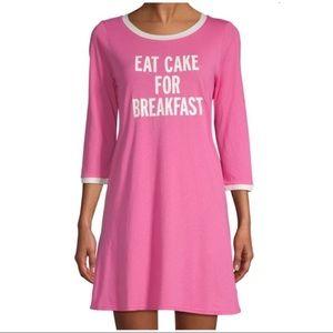 Other - Kate Spade Eat Cake for Breakfast Sleep Shirt